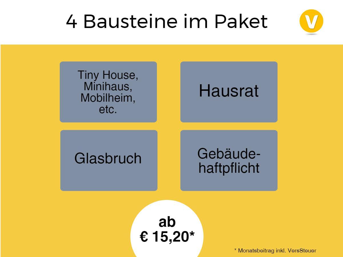 4 Bausteine im Paket