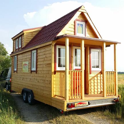 Bild Tiny House mit Strassenverkehrszulassung