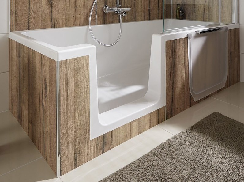 HSK Dobla Badewanne mit Dusche