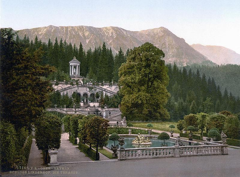Brunnenanlage Schloss Linderhof