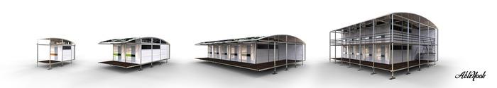 Ablenook Modulhaus mit flexiblem Grundriss