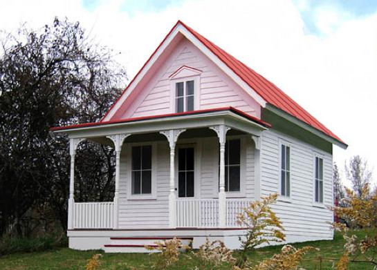 Bauplan f r minihaus bodega zum sparpreis tiny houses for Little big house plans