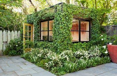 auszeit im eigenen garten haus tiny houses. Black Bedroom Furniture Sets. Home Design Ideas