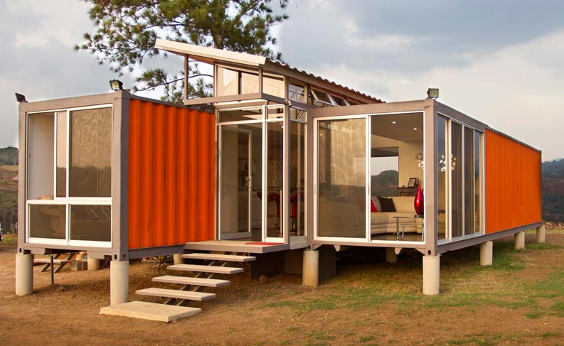Wohnen im seecontainer tiny houses for Transportables haus