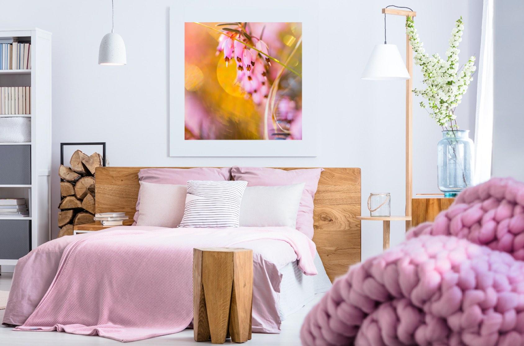Schlafzimmer mit Bildern gestalten