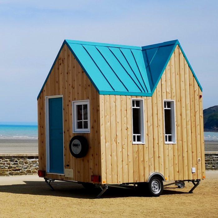 Bild Cahute Tiny House Frankreich