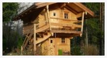 Chiemgauer Holzhaus - massiver Holzhausbau Oberbayern