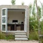 Cubicco Gartenstudio aus Kork