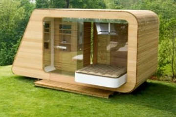 Garten studio atelier garden office anbieter in europa for Holzcontainer haus