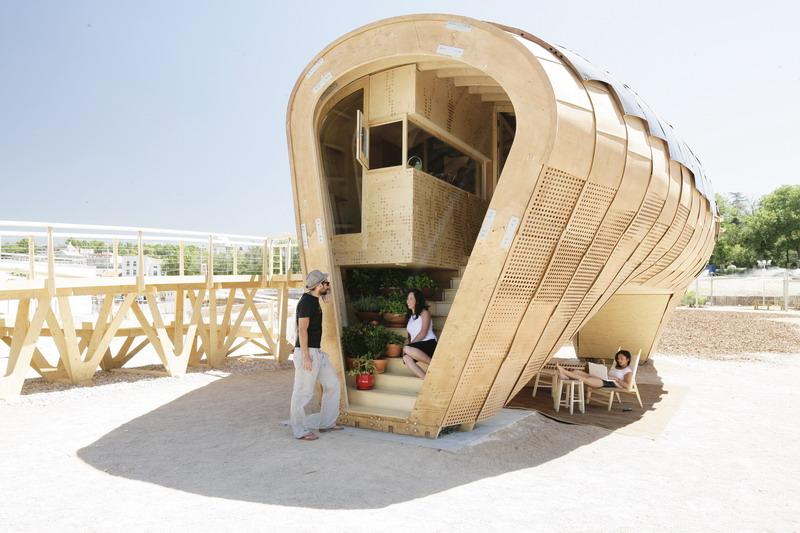 ökologische Häuser ökologisches solar minihaus das fab lab house tiny houses