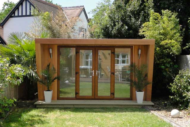 Tiny houses garten studio b ro oder atelier im garten - Gartenhaus 30 qm ...