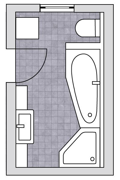 Grundriss Kleines Bad