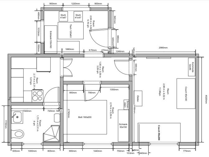 Tiny Houses Baupläne und Grundrisse für Minihäuser - Tiny Houses