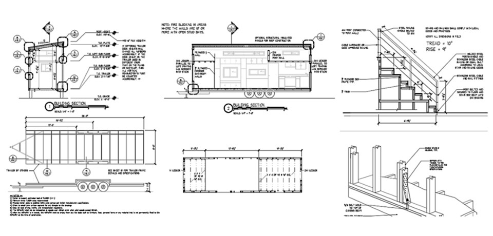 baupl ne f r tiny houses tiny houses. Black Bedroom Furniture Sets. Home Design Ideas