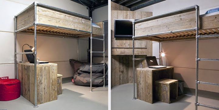 einfach betten selber bauen aus metall tiny houses. Black Bedroom Furniture Sets. Home Design Ideas