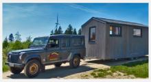 Bild Holzwohnwagen Tiny House