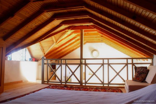 Bild: Schlafbereich kleines Ferienhaus