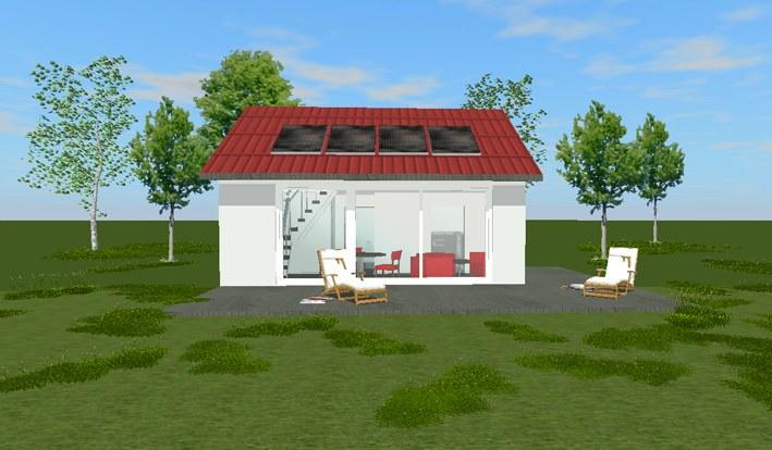 Kleine h user auf 50 qm tiny houses Mini haus bauen