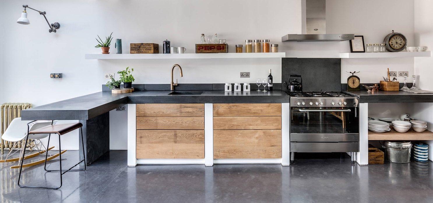 Tiny Houses Polierter Beton - Industrieboden mit Designanspruch
