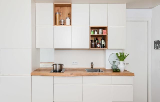 Miniküche 1 20 M Mit Kühlschrank : Kompakt und funktional u2013 tipps für die planung kleiner küchen tiny