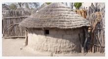 Bild Lehmhütte Namibia