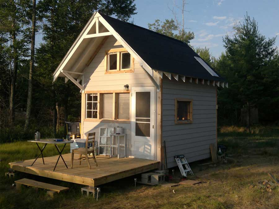 ein blog mit hunderten von minihausbildern tiny house. Black Bedroom Furniture Sets. Home Design Ideas