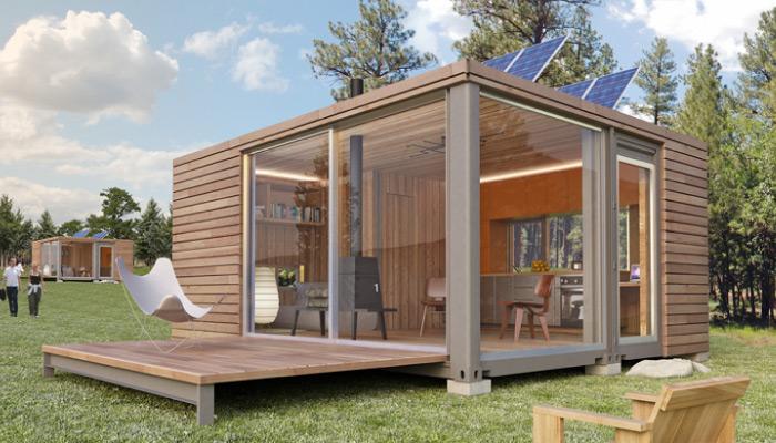 Tiny houses minihaus und modulhaus beispiele aus aller for Cubig minihaus