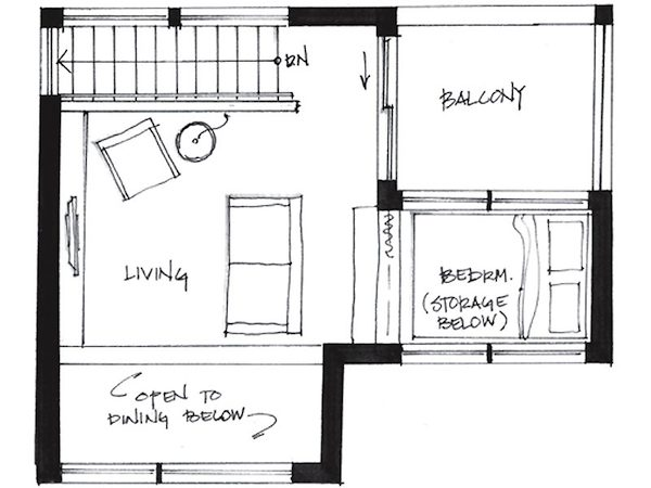 Wachsender markt f r kleine h user auf 50 qm tiny houses for 12 grimmauld place floor plan