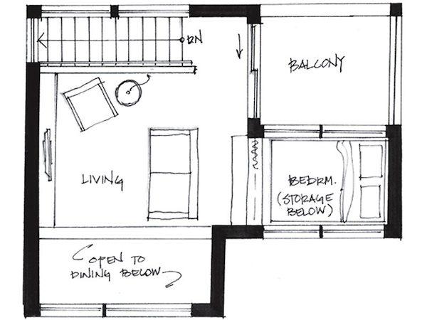 Minihaus Vancouver Grundriss OG