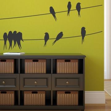 kreative wandgestaltung ideen contration deko ideen