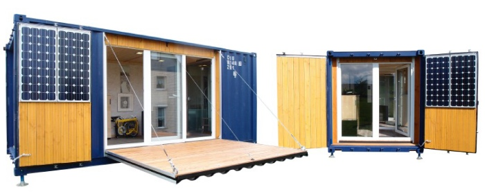 wohnen im seecontainer tiny houses. Black Bedroom Furniture Sets. Home Design Ideas
