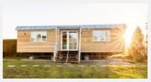 Bild Holzwohnwagen