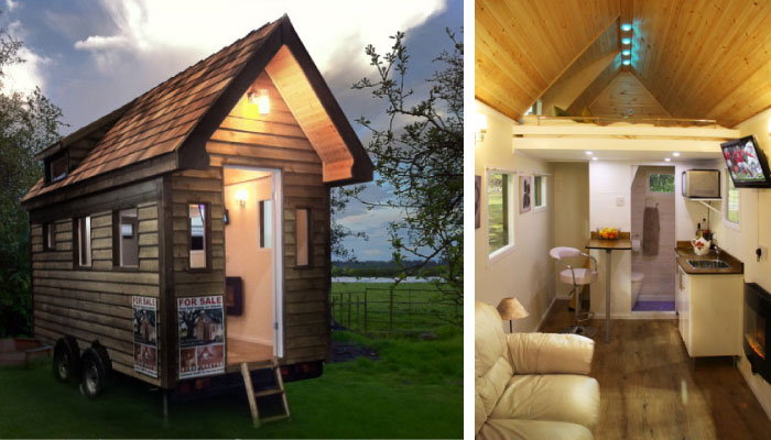 Tiny houses minih user aus surrey england for Minihaus mobil