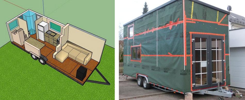 tiny houses ultimativer geschenktipp wochenende in einem. Black Bedroom Furniture Sets. Home Design Ideas