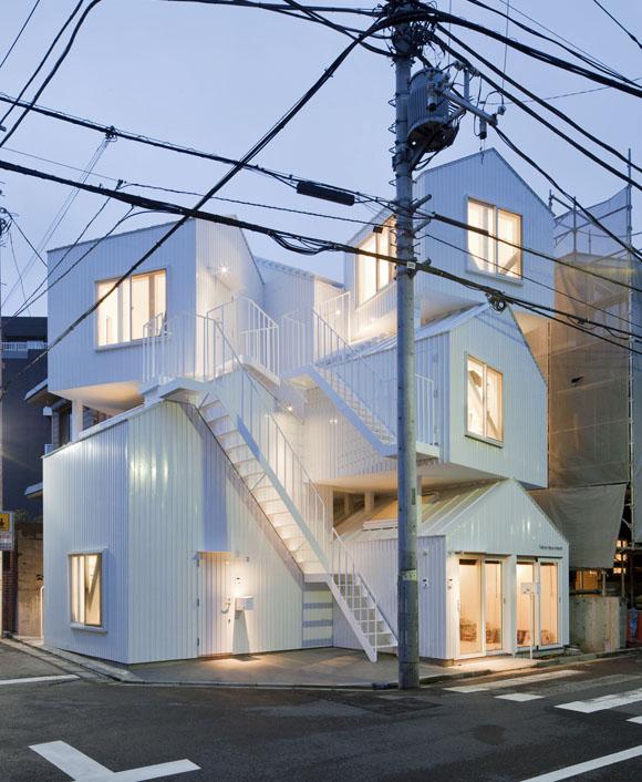 Japanische Architektur minihäuser in tiny houses