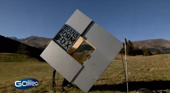 Tv tipp galileo testet wohnen auf engstem raum tiny houses for Holzcontainer wohnen