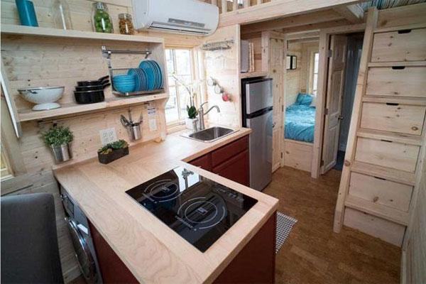 Gut bekannt Tiny Houses So plant ihr die perfekte Küche im Miniformat • Tiny CW84