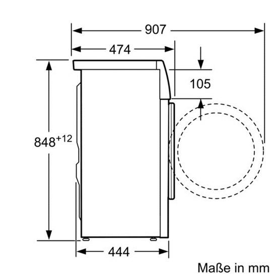 Bevorzugt Tiny Houses Großgeräte als Slimline - ideal in kleinen Räumen YQ99