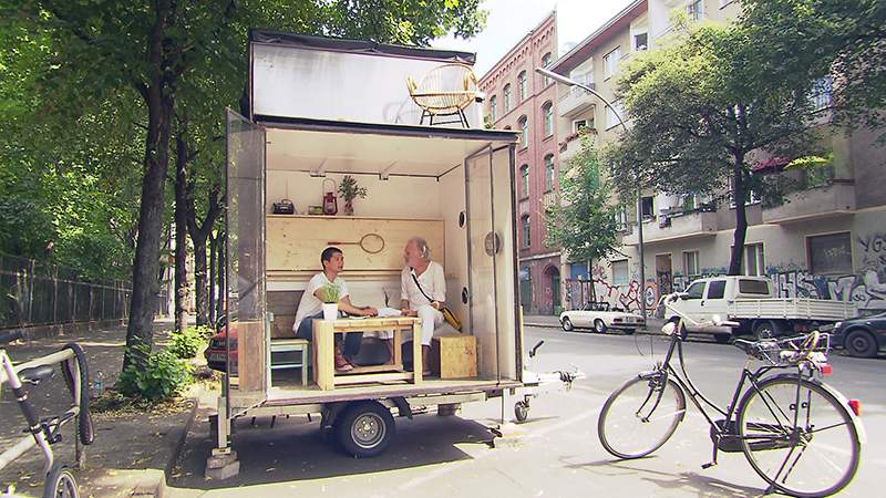 tv tipp weniger ist mehr auf 3sat tiny houses. Black Bedroom Furniture Sets. Home Design Ideas