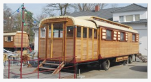 Bild Zirkuswagen Bewegt leben